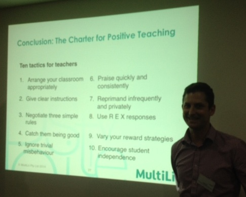 Charter for positive teaching