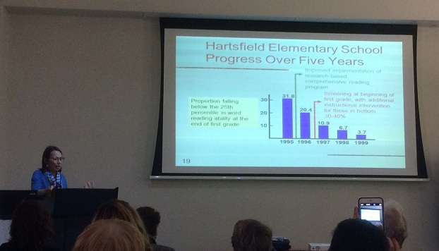 Hartsfield Elementary School five year literacy improvement cropped