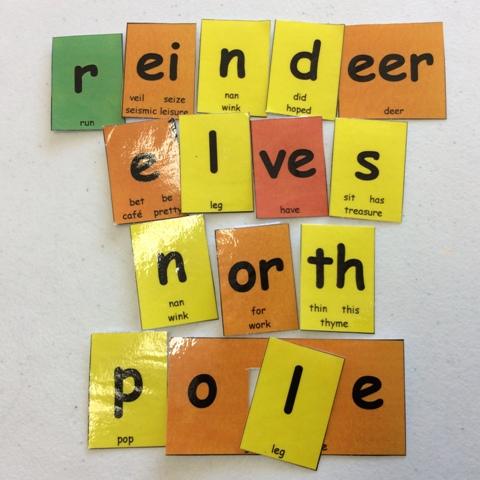 reindeer elves north pole